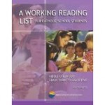 A Working Reading List for Catholic School Students Grade 3 - 5