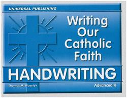 Writing Our Catholic Faith Handwriting