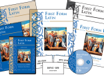 Memoria Press First Form Latin