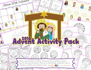 2016 Advent Activity Pack