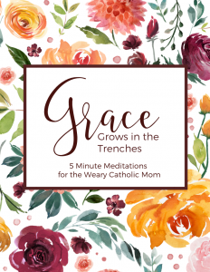 Grace Grows in the Trenches