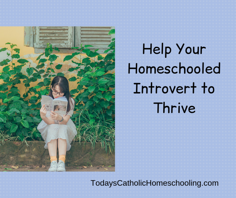 Help Your Homeschooled Introvert to Thrive