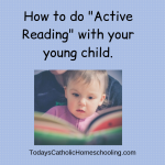 How to do Active Reading with your Young Child
