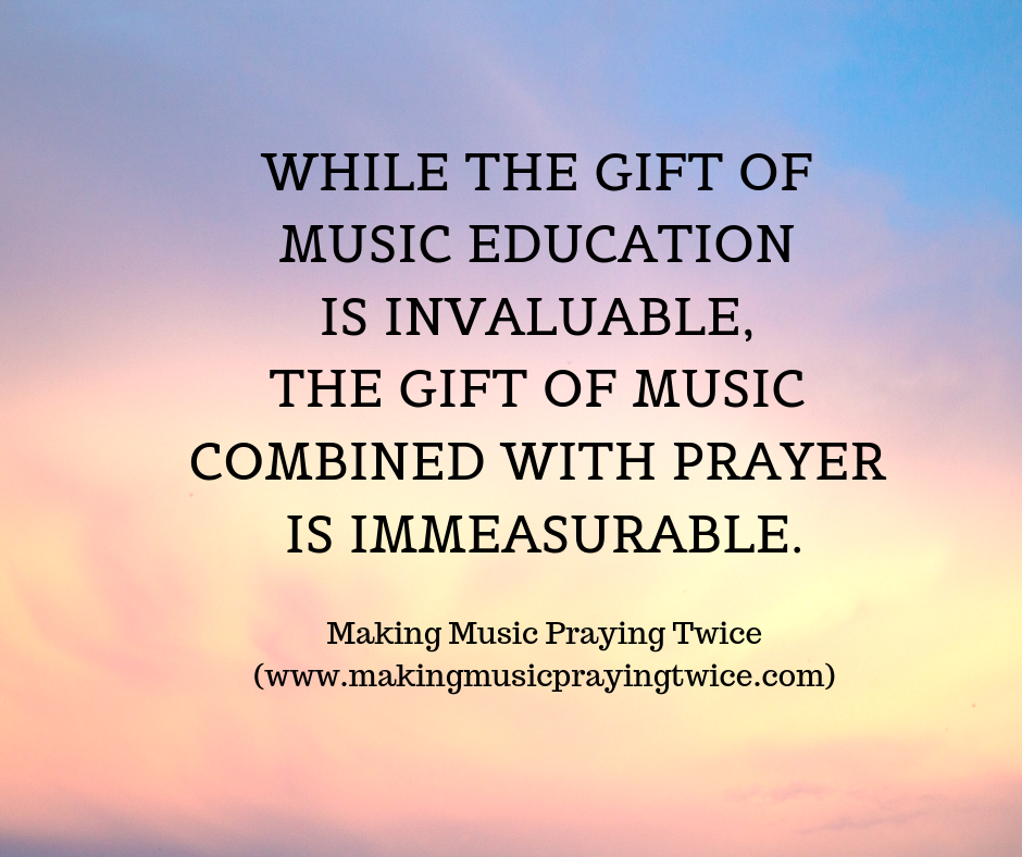 The Gift of Music Combined with Prayer — Today's Catholic