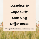 Learning to Cope with Learning Challenges