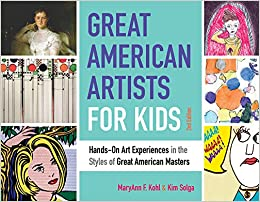 Great American Artists for Kids - Art History Based Art Projects #art #homeschooling